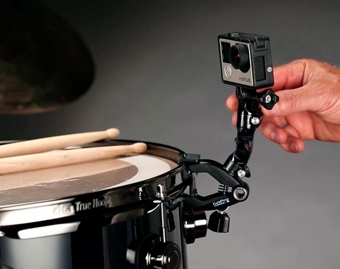 Обзор крепления для музыкальных инструментов GoPro The Jam-Adjustable Music (AMCLP-001)
