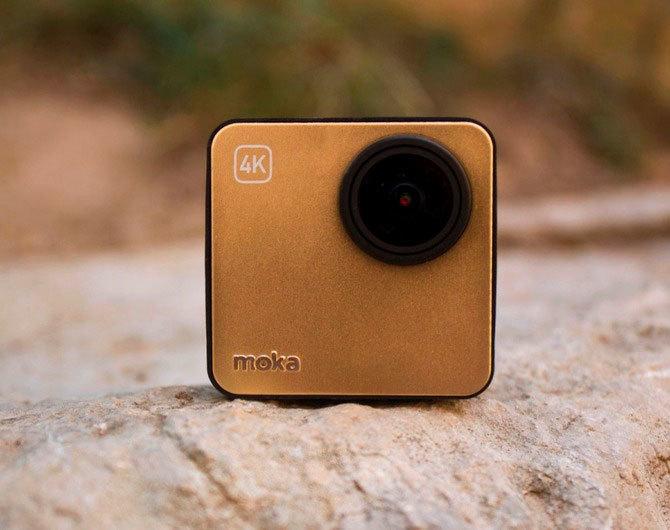 Самая маленькая 4К камера – Mokacam