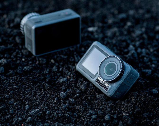 Экшн-камера DJI Osmo Action – ожидания и реальность