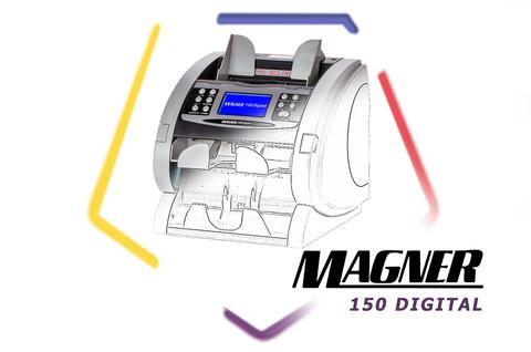 Обзор двухкарманного счетчика банкнот Magner 150 Digital