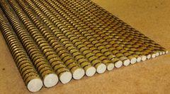 Как соотносятся диаметры стеклопластиковой и стальной арматуры?