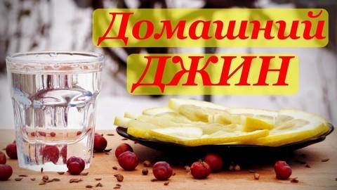 Самый простой рецепт джина из самогона в домашних условиях