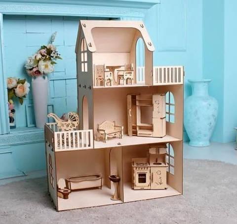 Чудо-дом Лайт для Барби