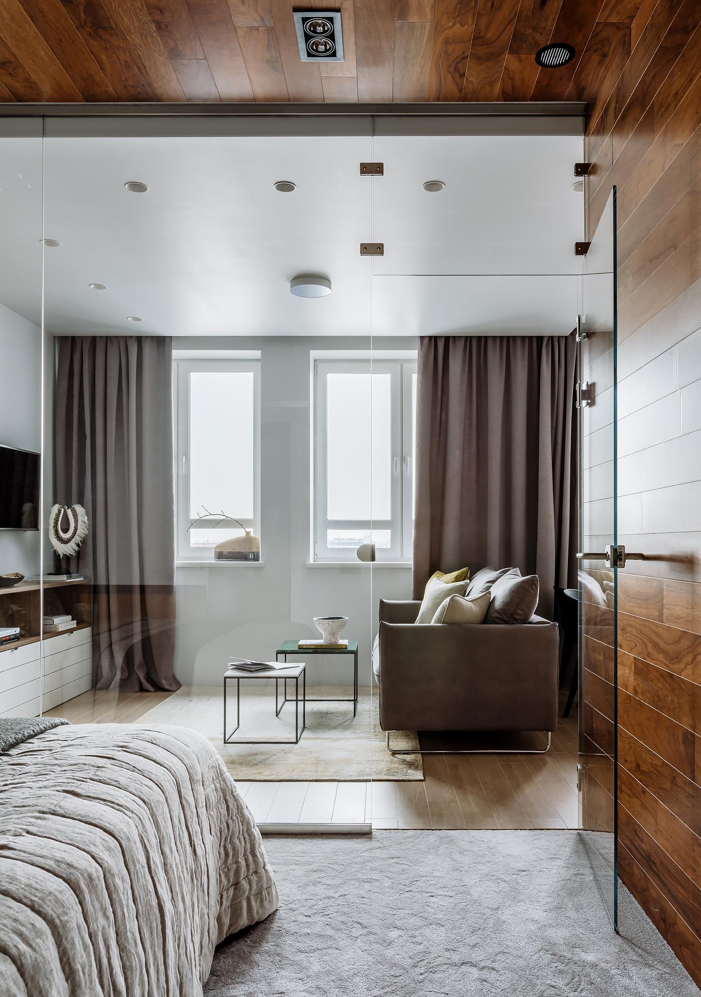 Стильная однокомнатная квартира площадью 48 кв.м.