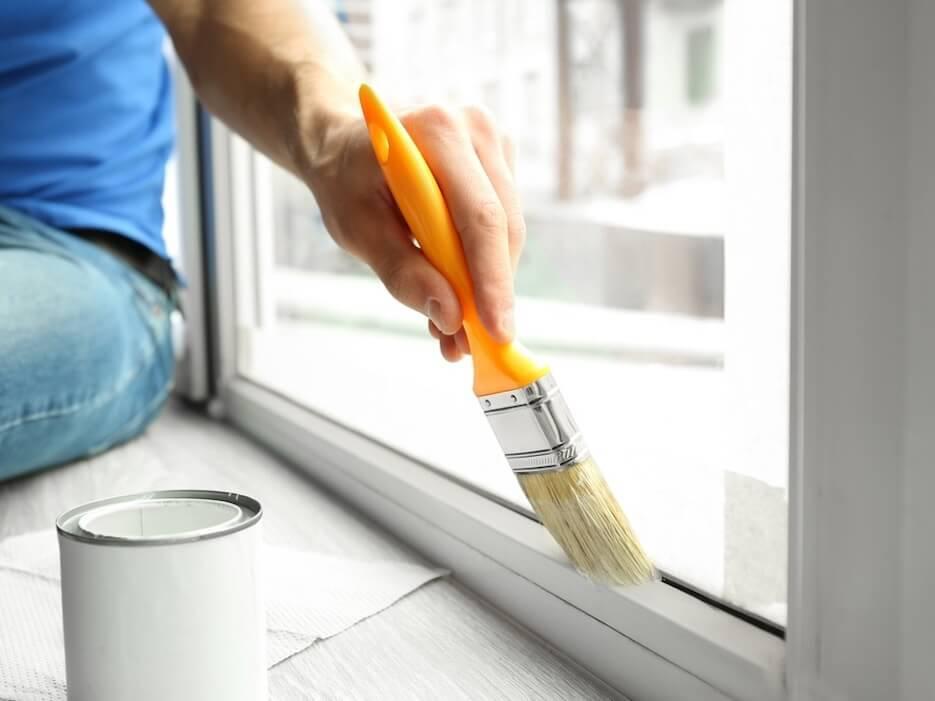 Как покрасить окна
