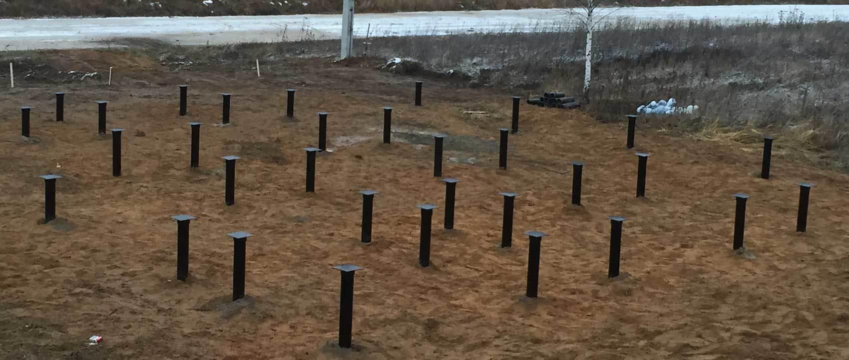 Винтовые сваи – универсальное решение для строительства