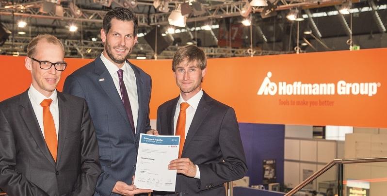 Hoffmann Group получает от Bosch награду Preferred Supplier Award