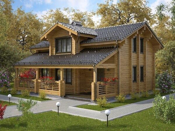 Малоэтажное строительство: дома и дачи