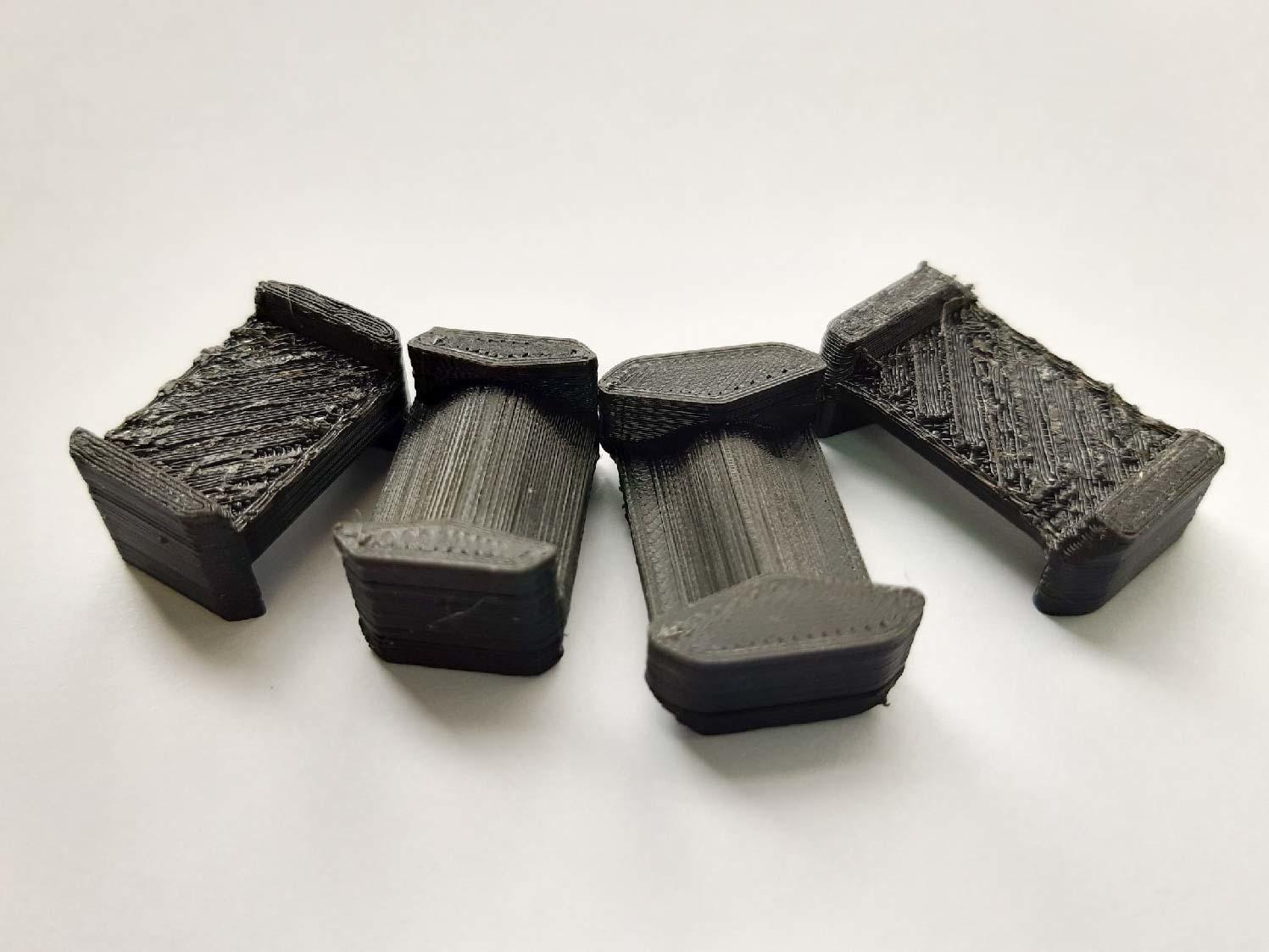 Недостатки фиксаторов, напечатанных на 3д принтере
