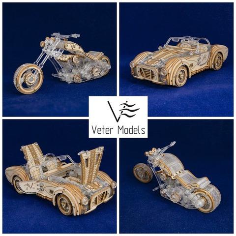 В 2020 году Veter Models возвращается на рынок со новыми механическими моделями!