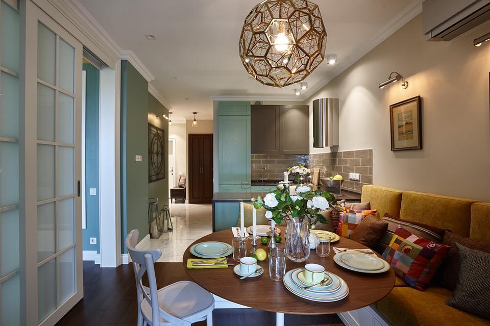 Квартира в стиле современной классики в Царицыно