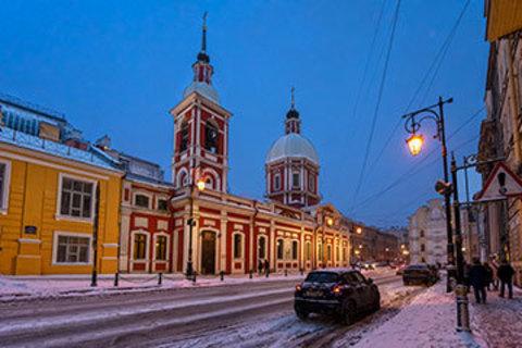 Пантелеимоновская церковь в Санкт-Петербурге