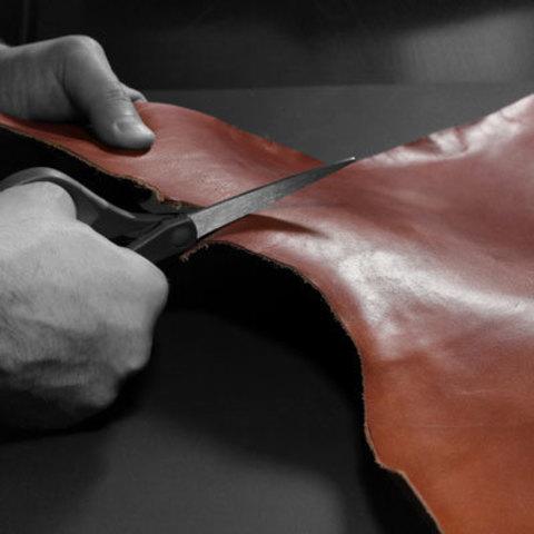 Как кроить и шить изделия из натуральной кожи: простые советы