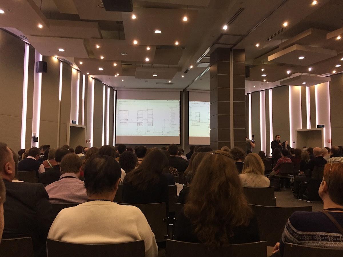 Участие в архитектурной конференции