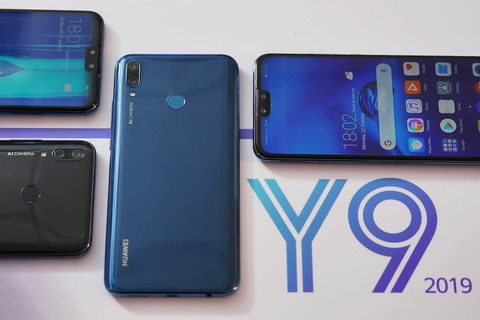 Huawei  Y9 2019 будет с тремя камерами и Android Pie.