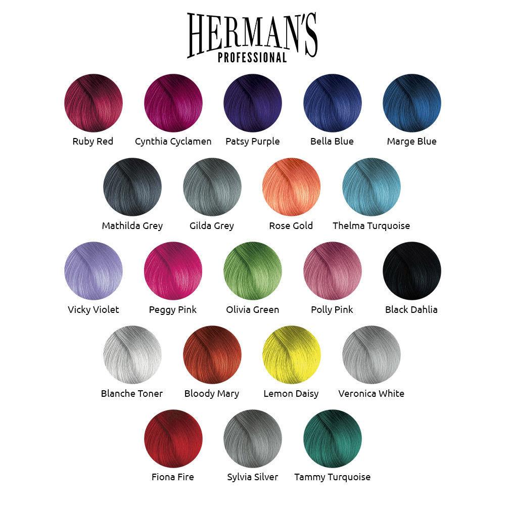 Інструкція по фарбуванню Herman's Amazing