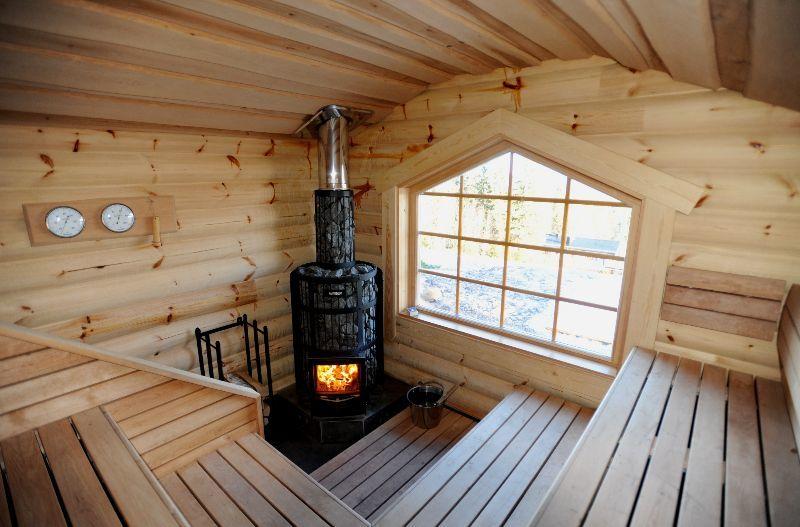 Строительство и отделка бань из дерева