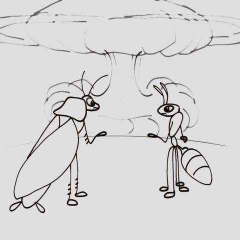 Почему умирают муравьи