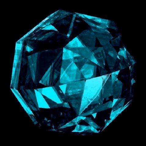 Голубой гранат