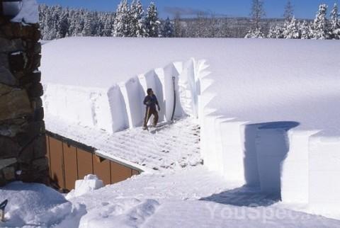 Как установить снегозадержатель, чтобы его не оторвало.