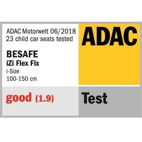 BeSafe iZi Flex i-Size - Победа на краш-тестах ADAC