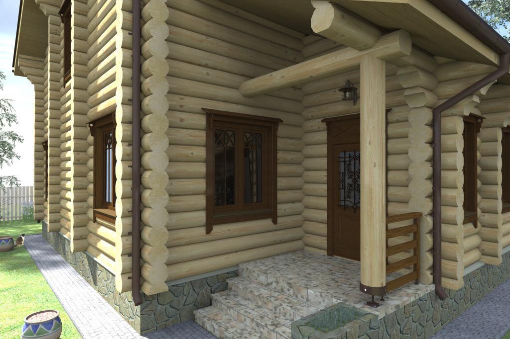Проблема угловых соединений деревянных домов.