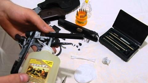 Как ухаживать за списанным оружием?