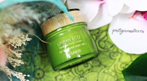 Легкий корейский уход с The Saem Urban Eco Harakeke Fresh Cream