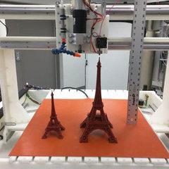 Гибрид 3D-принтера и станка с ЧПУ