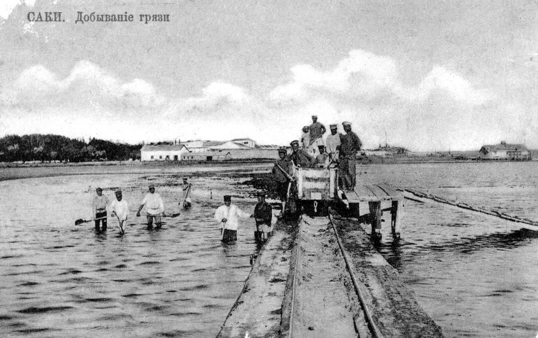История Сакского озера -это история Сакского курорта