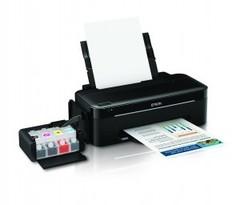 Принтер со встроенной снпч Epson L100