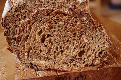 Пшенично-ржаной солодовый с семечками на закваске!
