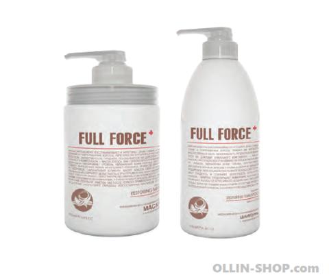 Лечение волос от OLLIN FULL FORCE Для сильно поврежденных волос и не только!