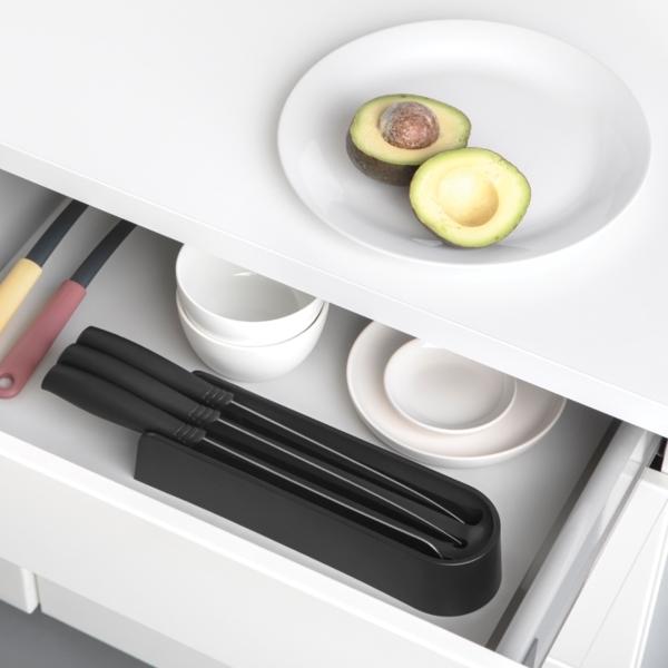 Наборы ножей Tasty+: практично, компактно, под рукой