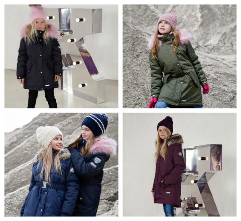 Зимние парки Lenne Ленне - куртки для девочек и мальчиков