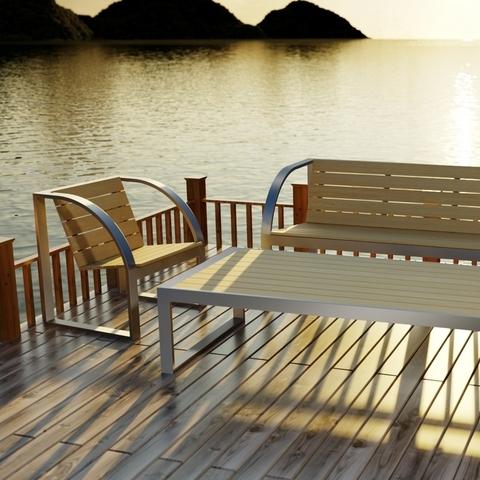 Новая серия outdoor мебели ТРИФ ПЛАЗА