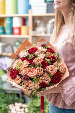 Скидка 30% на все цветы