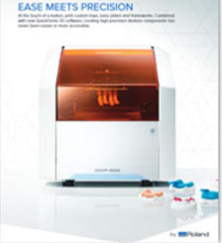 Стоматологический 3D принтер Roland