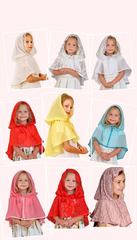 Скидка на Церковный платок для Девочки