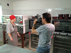 Телеканал «Культура» побывал в пекарне «Хороший хлеб»
