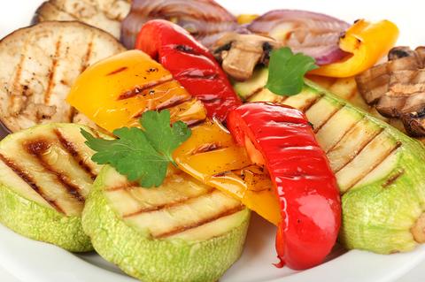 Овощи в тандыре