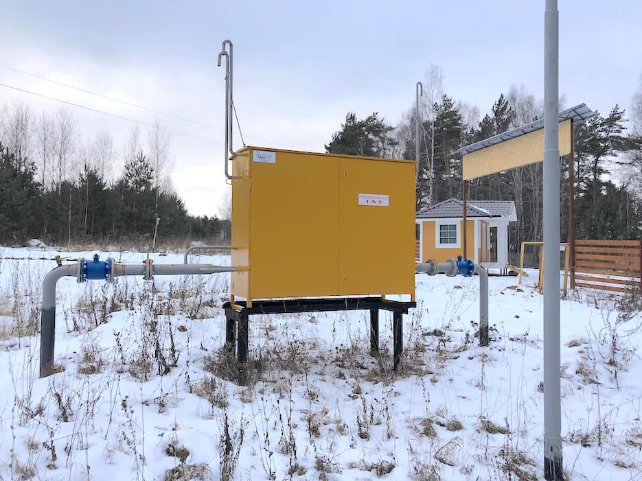 Газорегуляторный пункт в «Усадьбе Романово» подключен к магистрали