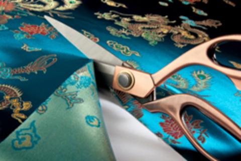 Как правильно разложить выкройку на ткани