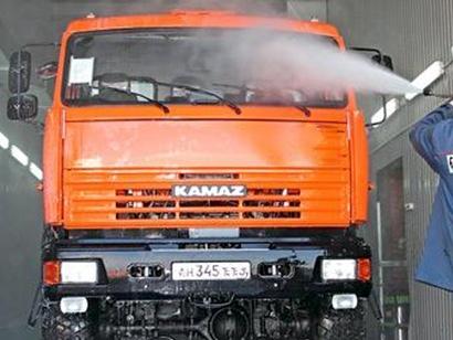 Где помыть грузовик в Заокском районе?