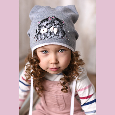 Зимние детские шапки оптом и уже на складе