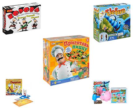 Большой выбор настольных игр для разных возрастов и на любой кошелек