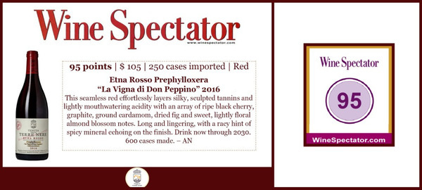 Wine Spectator: Tenuta delle Terre Nere возглавило топ-лист вин Этны.