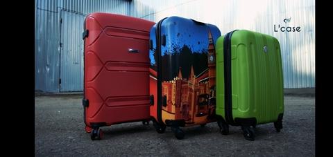Неубиваемые чемоданы от L' case !!!