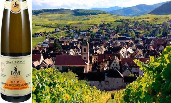 Вино недели с 7 мая - Dopff au Moulin Riesling Schoenenbourg Grand Cru