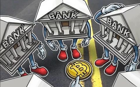 Крупнейшие банки всерьёз задумались о работе с криптовалютами